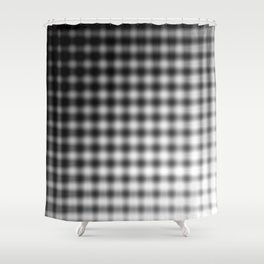 The Dash Between Our Absences Shower Curtain