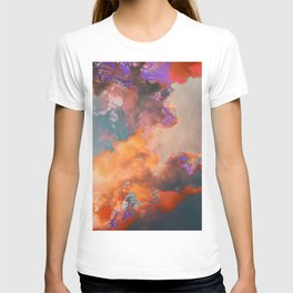 Colorful sky & clouds T-shirt