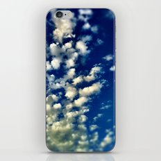 A bunch of clouds in the sky. iPhone & iPod Skin