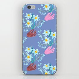 Peace. Flowers. March. iPhone Skin