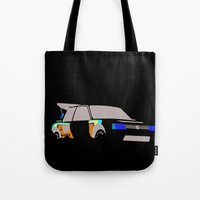 audi Tote Bags featuring 205 T16 by Cale Funderburk