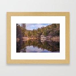 Lake Fulmor Framed Art Print