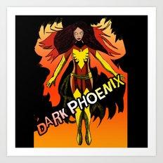 Dark Phoenix Art Print