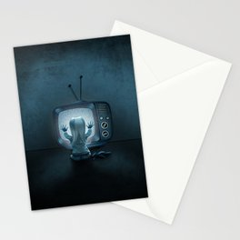 Tune in Poltergeists Stationery Cards