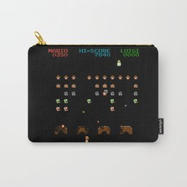 Mario Invaders Carry-All Pouch