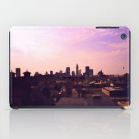 cleveland iPad Cases featuring Cleveland Skyline by Toni Tylicki
