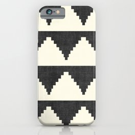 Lash in Black and White iPhone Case