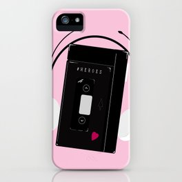 I hear synthwave music iPhone Case