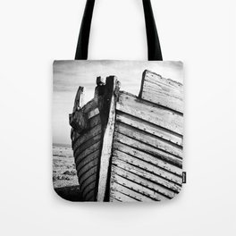 An old wreck Tote Bag