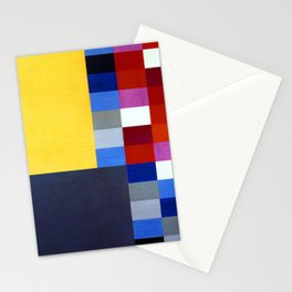 Sophie Taeuber Arp Vertical Horizontal Composition Stationery Cards