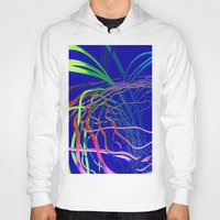 the wire Hoodies featuring Live Wire by Brian Raggatt