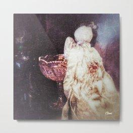"""Mary's Raggedy Angel""  Metal Print"