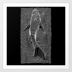 Jaws Division Art Print