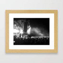 Dance in the Dust Framed Art Print