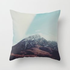 Mountains in the background XIII Throw Pillow