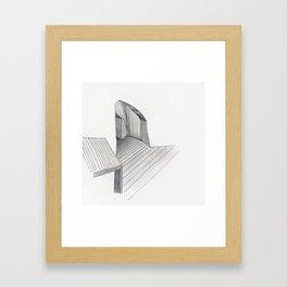 Underground Studio Framed Art Print