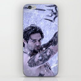 Bam Bam the Snow Warrior iPhone Skin