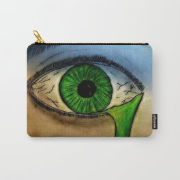 Green with Evil Carry-All Pouch