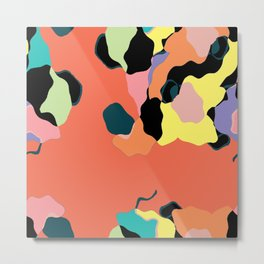 Descending Color Metal Print