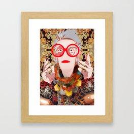 Iris: Savannah Framed Art Print