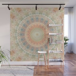 Mandala a hint of earlier times Wall Mural