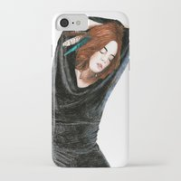 calm iPhone & iPod Cases featuring CALM by Carlos ARL