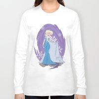 elsa Long Sleeve T-shirts featuring Elsa by LarissaKathryn