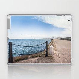Dun Laoghaire pier Laptop & iPad Skin