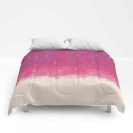 Abstract Beach Drapes Design Comforters