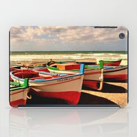 boats iPad Cases featuring boats by  Agostino Lo Coco