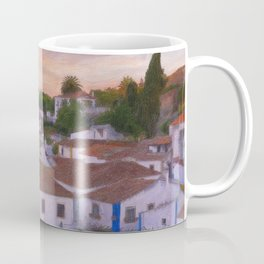 The walled town of Obidos, Portugal Coffee Mug