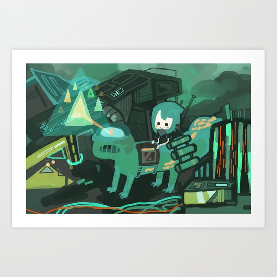 tland Art Print