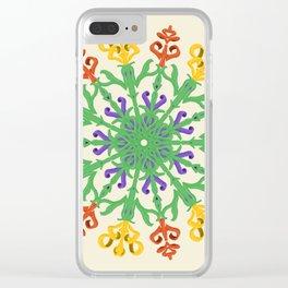 """""""Chega de Saudade"""" Clear iPhone Case"""