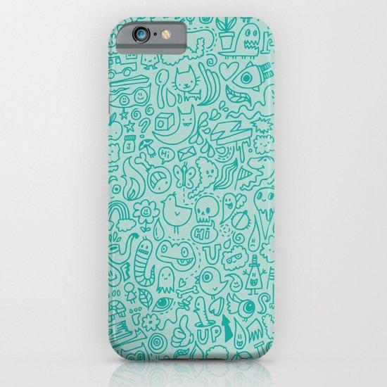 Chalk Doodle iPhone & iPod Case