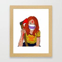 """Ruth"" SHR Framed Art Print"