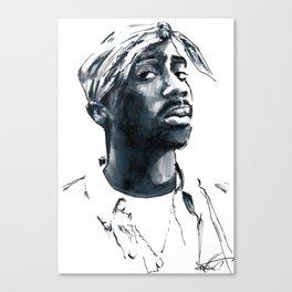 2 pac Canvas Print