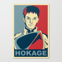 Naruto - Hokage Canvas Print