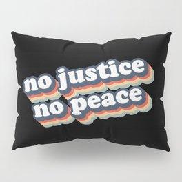 No Justice No Peace BLM 2020 Pillow Sham