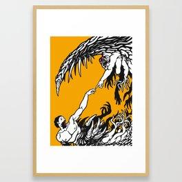 The Curse of God Framed Art Print