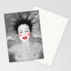 The noise of the world Stationery Cards