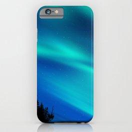 Aurora Synthwave #8 iPhone Case