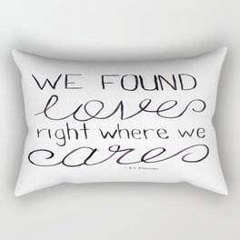 Thinking Out Loud 1 Rectangular Pillow