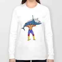 fishing Long Sleeve T-shirts featuring Fishing by PCRK