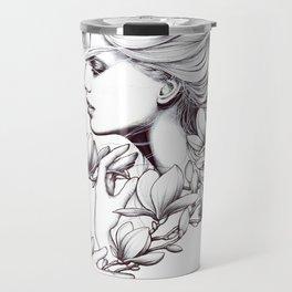 Magnolia Melancholy Travel Mug