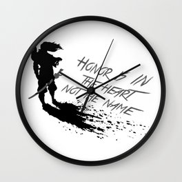 Yasuo best quote Wall Clock
