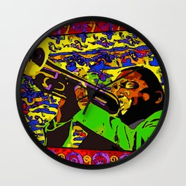 Wynton Marsalis Plays Louis Armstrong Wall Clock