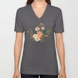 Spring flowers Unisex V-Neck