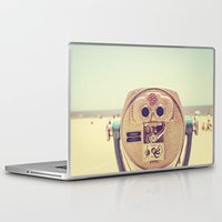 miles davis Laptop & iPad Skins featuring Miles and Miles by Melanie Alexandra