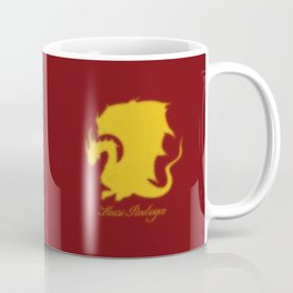 Distressed Pendragon Crest Coffee Mug