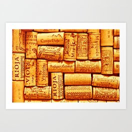 Every Which Way Rioja Art Print